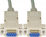 Kabel Seriell DB9 W/W 1.80 m Nullmodem