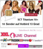 Sat Pay-TV SCT Titanium HD 10CH 6Mt