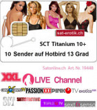 Sat Pay-TV SCT Titanium HD 10CH 12Mt