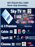 Sat Pay-TV Sky Italia Full Paket