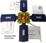 SMARGO  USB Cross HUB per quattro Smargo lettore di schede