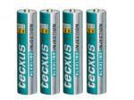 Batterien 4Stk. Micro Tecxus LR03 AAA