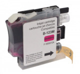 Tinte color Brother LC 123 MAGENTA