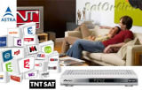 Sat Pay-TV TNT France avec Recepteur HD