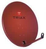 Sat Antenne TRIAX 78cm Alu HQ ziegelrot
