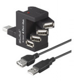 USB Hub 4 Port Flexi-Bay